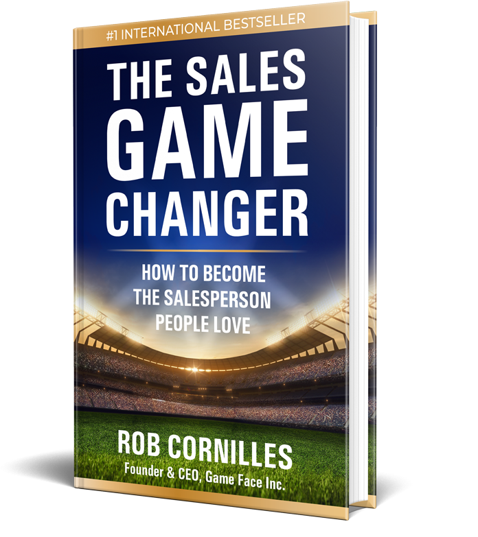 #1 International Bestselling Book, The Sales Game Changer by Rob Cornilles