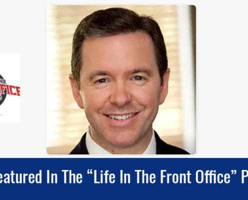 life in the front office podcast with rob cornilles of Game Face Inc